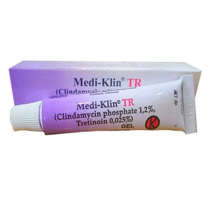 Medi-Klin Clindamycin Tretinoin Cream for Inflamed Acne, Pimples Acne Vulgaris