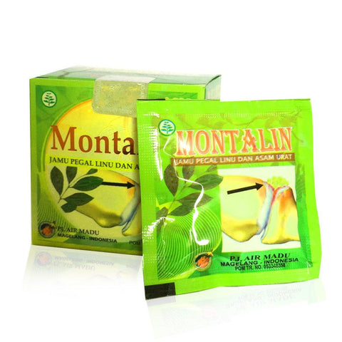 Montalin Herbal Relieve Gout Pain, Chronic Rheumatic, Cholesterol, Blood Clots - Barustore.com