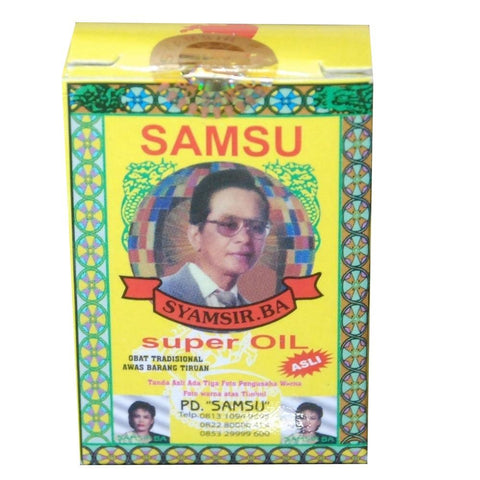 Samsu Oil for Ejaculation Delay