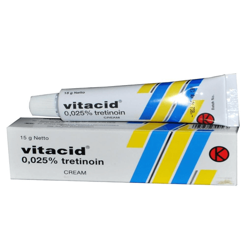Vitacid Retinol 0,025 cream for Anti Ageing Acne, Wrinkles, Papules