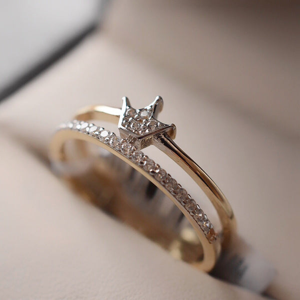Anillo Crown Oro 14k GJIP45015/9A1