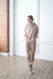 Oversized Hoodie and Sweatpants Set