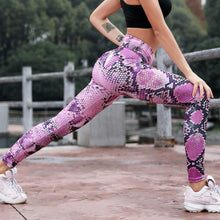 Snakeprint Athletic Leggings