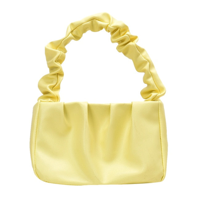 Ruffle Strap Mini Purse