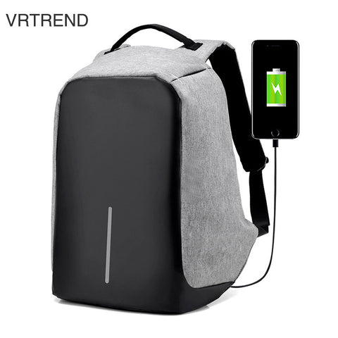 Travel Anti-theft Backpack Business Laptop Backpack College Students Book Bag with USB Charging Port