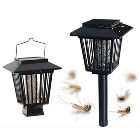 Solar Powered LED Mosquito Killer Lamp