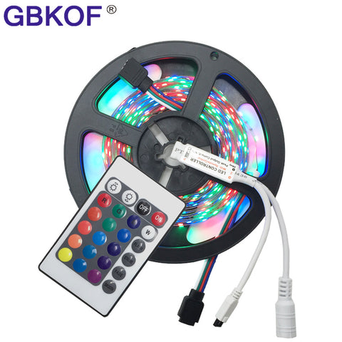 16ft Color Changing 300 LED Light Strip with Remote Control