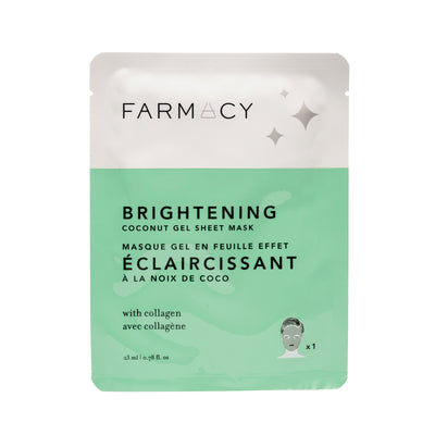 Brightening Coconut Sheet Gel Mask - single mask