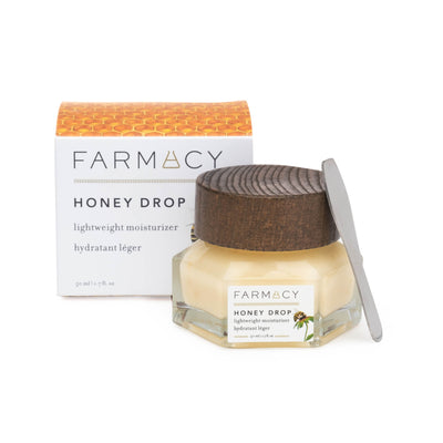 Honey Drop moisturizer with packaging