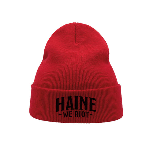 "BEANIE ""Resist!"" RED"