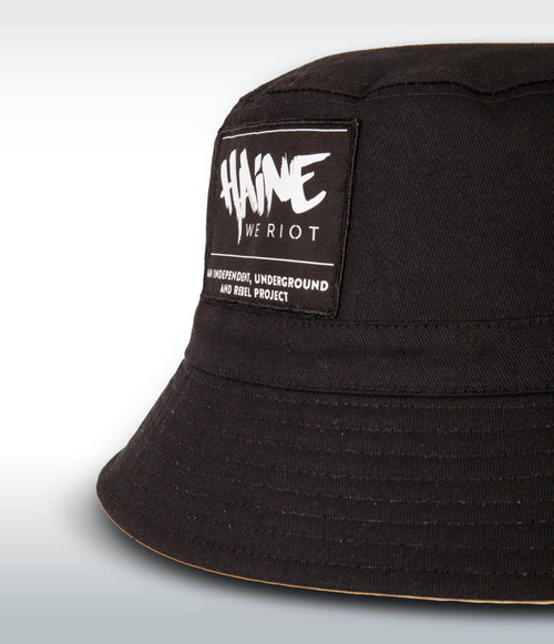 "BUCKET ""Haine We Riot"" BLACK"