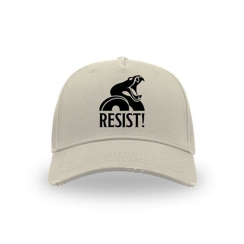 "BASEBALL HAT ""Resist!"" STONE"