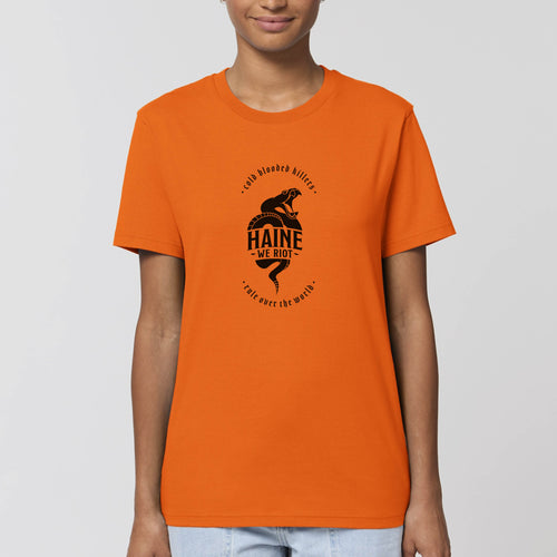 "T-SHIRT ""CBK"" ORANGE"