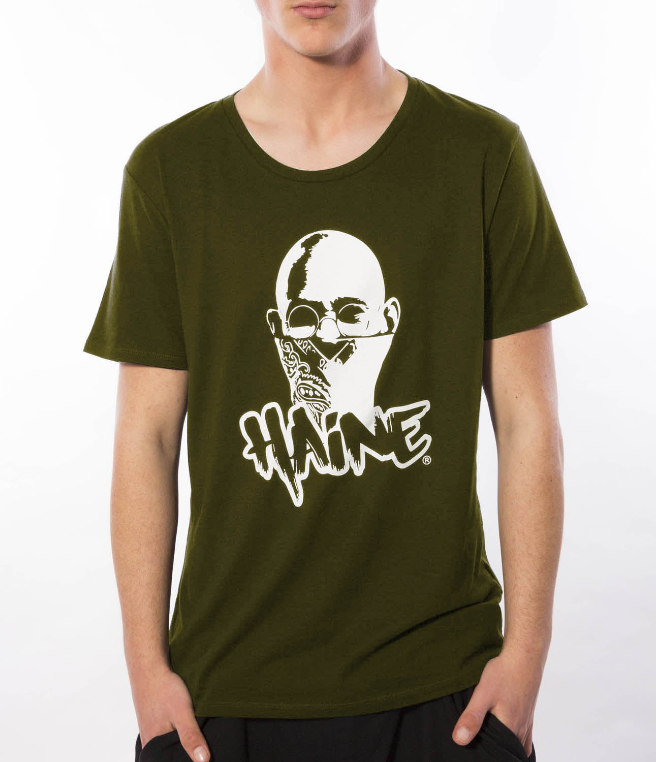 "T-SHIRT ""Rebel"" OLIVE"