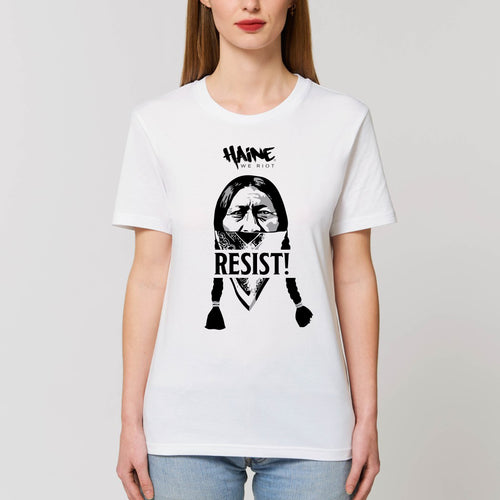 "T-SHIRT ""Sitting Bull Resist!"" WHITE"