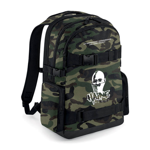 """OLD SCHOOL"" BACKPACK CAMO"