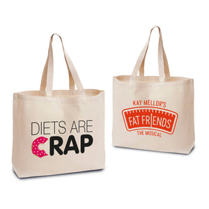 Diets Are Crap Tote Bag