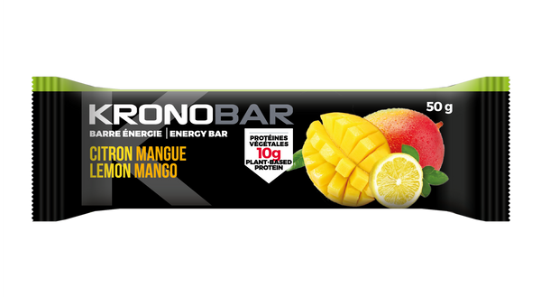 Barres énergie Mangue Citron (12 barres)
