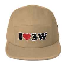 I Love 3rd Ward Five Panel Cap