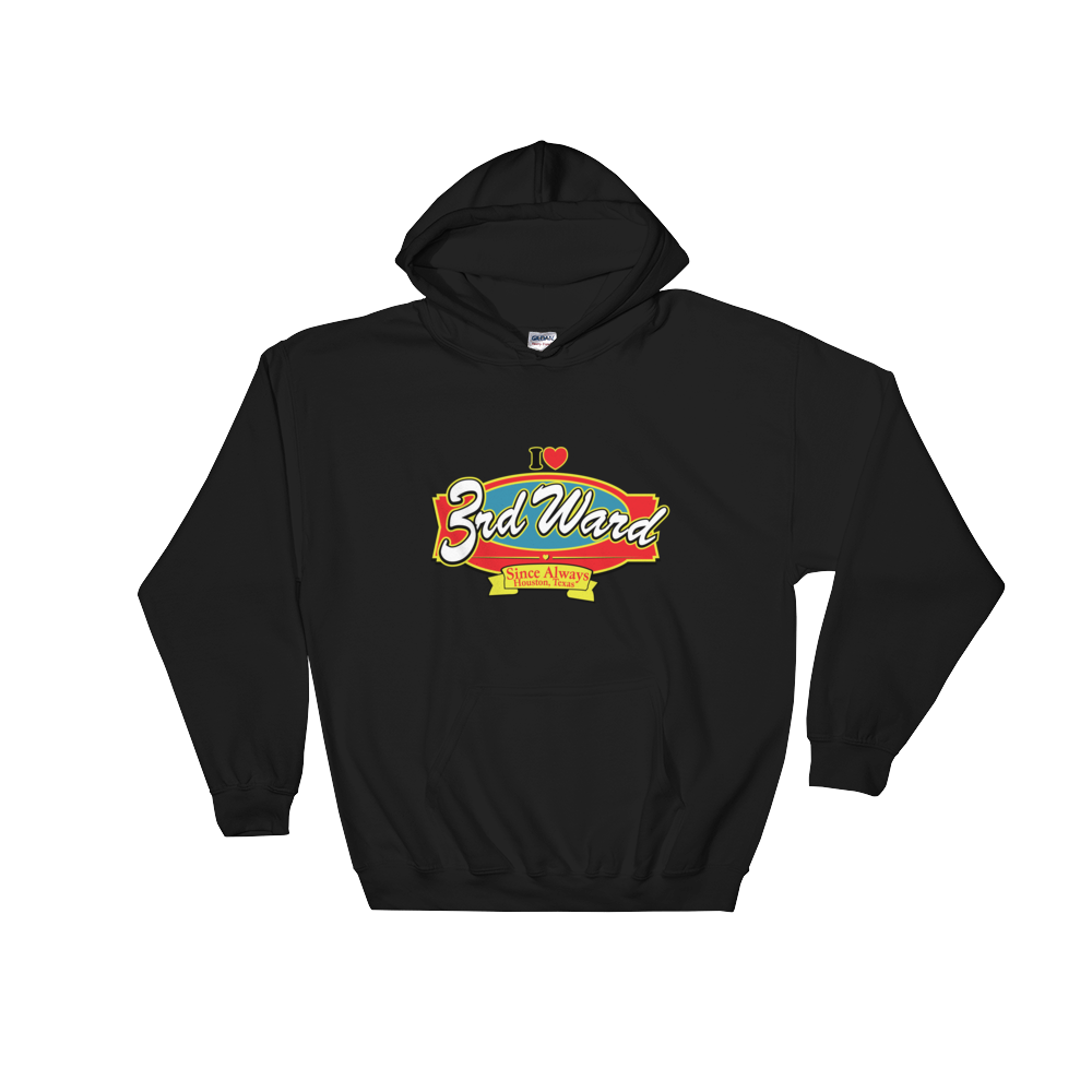 I Love 3W Southern Fried Flavor Hooded Sweatshirt