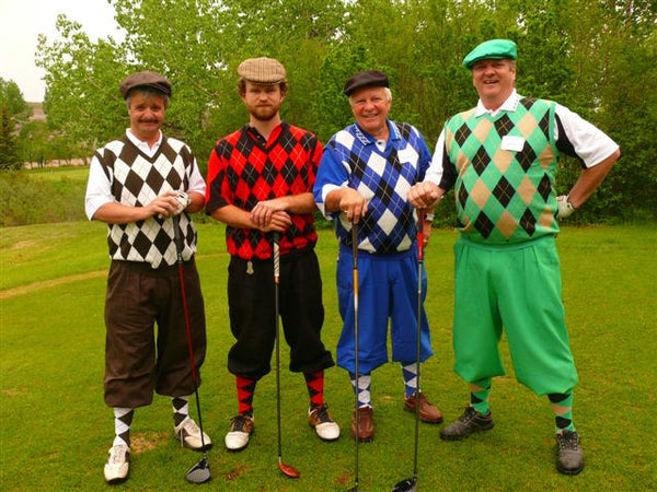 Golfers - Dressed To Knock Socks Off