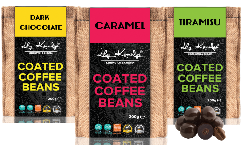 Coated Coffee Beans