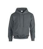 CHARCOAL GILDAN® HEAVY BLEND HOODED SWEATSHIRT. 1850