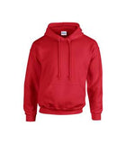 RED GILDAN® HEAVY BLEND HOODED SWEATSHIRT. 1850