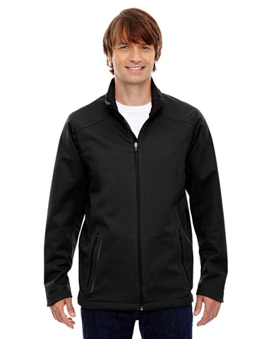 North End's Men's Splice 3 layer light bonded Soft Shell Jacket 88655