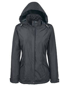 Ash City - North End Ladies' Excursion Transcon Lightweight Jacket with Pattern 78216