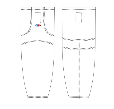 Adult Wide Hockey Socks HS1100
