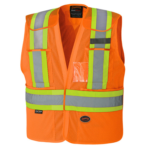 Hi-Viz Safety Tear-away Vest 6932