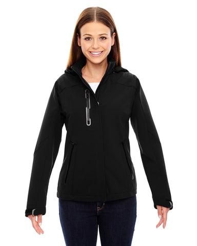 North End Ladies' Axis Soft Shell Jacket 78665