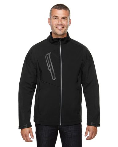 North End's Men's Terrain Colorblock Soft Shell Jacket 88176