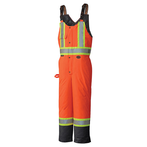 Hi Viz 100% Waterproof Quilted Bib Pant 5040BB