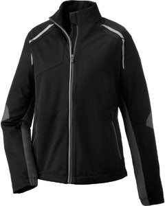 Ash City - North End Ladies' Dynamo Three-Layer Lightweight Bonded Performance Hybrid Jacket