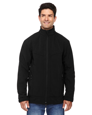 North End's Men's 3 layer Light Bonded Soft Shell Jacket 88604