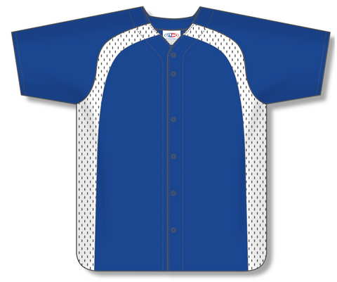 Full Button Baseball Jersey BA502