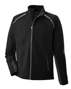 Ash City - North End Men's Dynamo Three-Layer Lightweight Bonded Performance Hybrid Jacket  88654