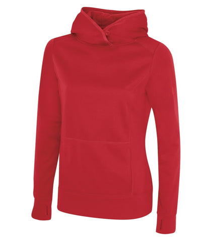 TRUE RED ATC GAME DAY FLEECE HOODED LADIES' SWEATSHIRT. L2005