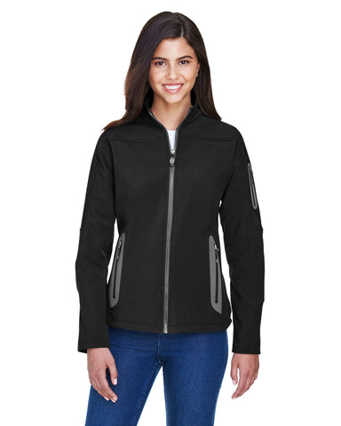 North End Ladies' 3 Layer Bonded Soft Shell Jacket 78060