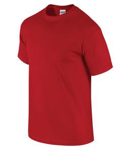 CHERRY RED GILDAN® ULTRA COTTON® T-SHIRT. 2000