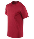 HEATHER CARDINAL GILDAN® ULTRA COTTON® T-SHIRT. 2000
