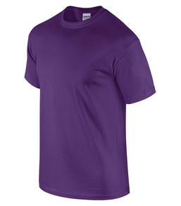 PURPLE GILDAN® ULTRA COTTON® T-SHIRT. 2000