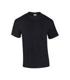 BLACK GILDAN® ULTRA COTTON® T-SHIRT. 2000
