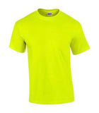 SAFETY GREEN GILDAN® ULTRA COTTON® T-SHIRT. 2000