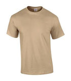 TAN GILDAN® ULTRA COTTON® T-SHIRT. 2000
