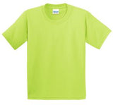 SAFETY GREEN GILDAN® ULTRA COTTON® YOUTH T-SHIRT. 200B