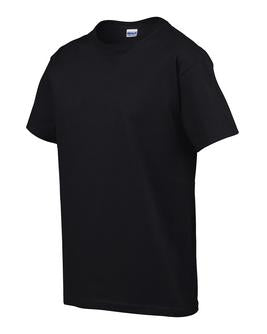 BLACK GILDAN® ULTRA COTTON® YOUTH T-SHIRT. 200B