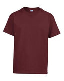 MAROON GILDAN® ULTRA COTTON® YOUTH T-SHIRT. 200B
